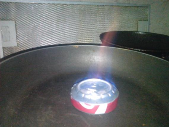 банка горелка алюминий 2 банки спиртовка на самогоне