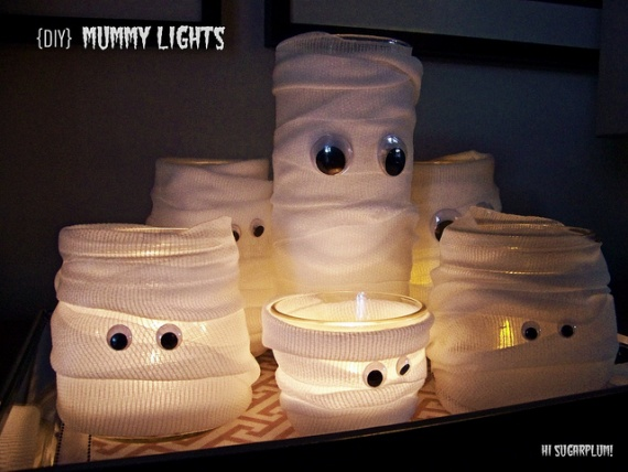 мумия на Хэллоуин