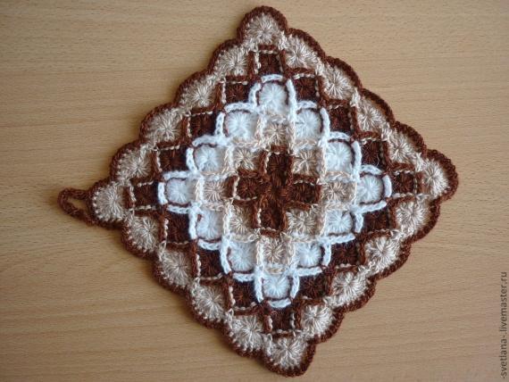 Баварское вязание