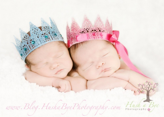 Корона для принцессы из кружева своими руками