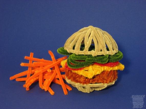 гамбургер из ершиков