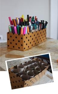 как организовать хранение ручек