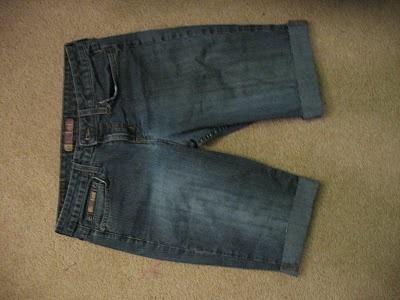 из старых джинсов