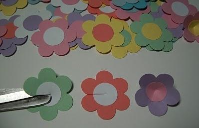 бумажное цветочное дерево