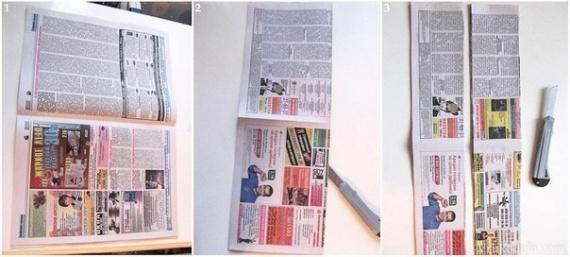 Шкатулка из газет своими руками