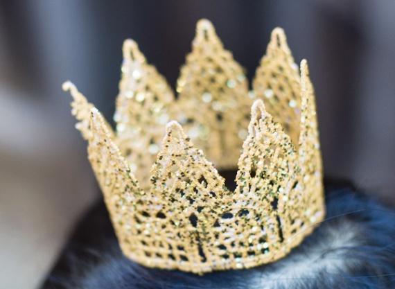 Корона из кружева своими руками