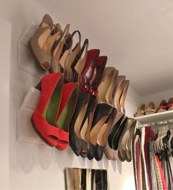 Обувной органайзер своими руками