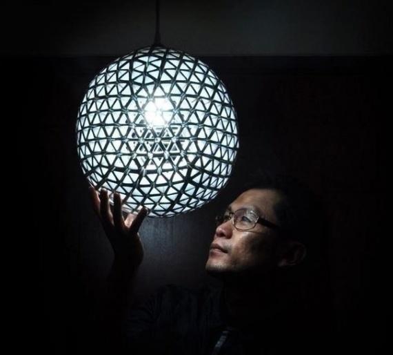 Как сделать люстру своими руками от дизайнера Ed Chew