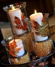 как украсить свечку