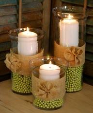 идея для свечей