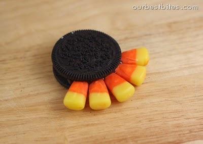 индейка из конфет